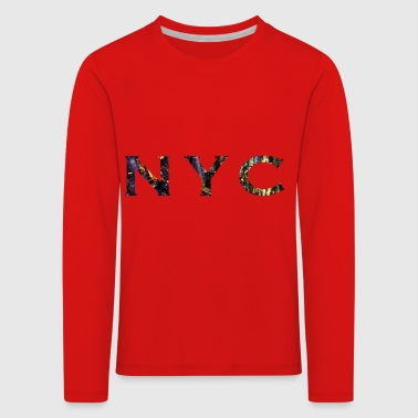 New York City NYC - T-shirt manches longues Premium Enfant