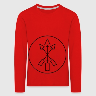 arrow - Kids' Premium Longsleeve Shirt