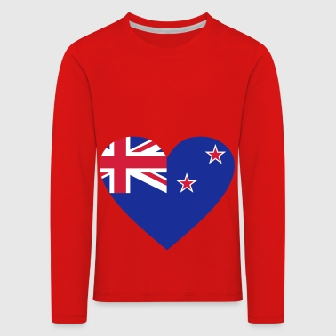 2541614 14657116 New Zealand - Kids' Premium Longsleeve Shirt