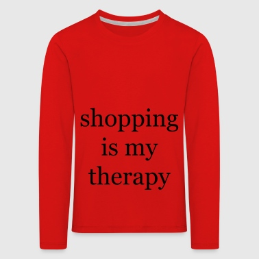 Shopping-Therapie - Kinder Premium Langarmshirt
