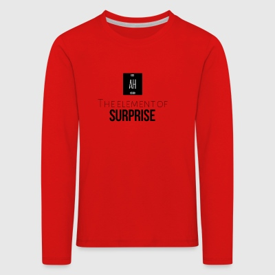 The element of surprise - Kids' Premium Longsleeve Shirt