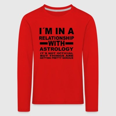 Relationship with ASTROLOGY - Kids' Premium Longsleeve Shirt
