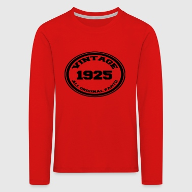 Year of birth 1925 - Kids' Premium Longsleeve Shirt