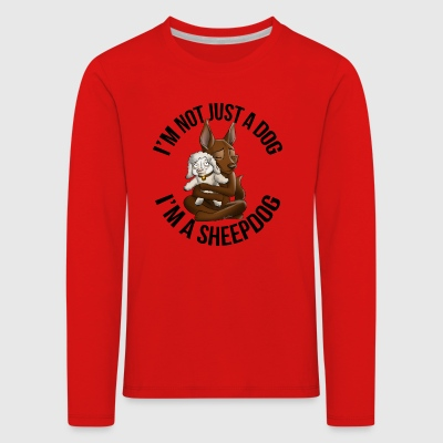 Kelpie Chocolate Mutton - Kids' Premium Longsleeve Shirt