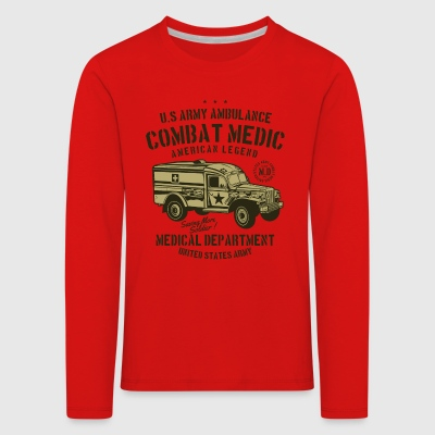 US Army Ambulance2 - Kinder Premium Langarmshirt