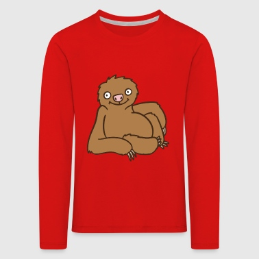 sloth - Kids' Premium Longsleeve Shirt