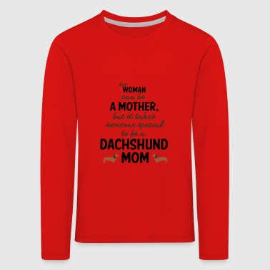 Dachshund dog love - Kids' Premium Longsleeve Shirt