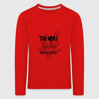First sight attraction - Kids' Premium Longsleeve Shirt