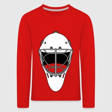 hockey maske - Premium langermet T-skjorte for barn