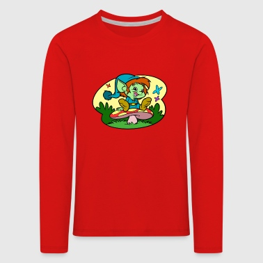 Tiny Elf - Kids' Premium Longsleeve Shirt