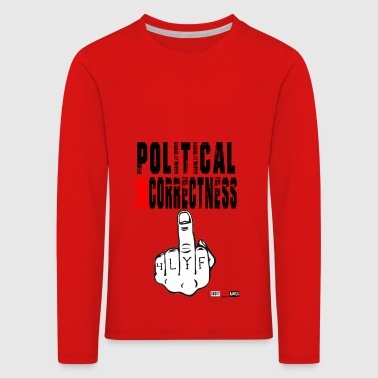 Lokey Games Official Political Incorrectness - Kids' Premium Longsleeve Shirt