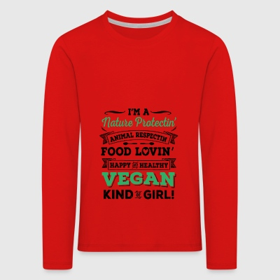2541614 127752797 VEGAN - Premium langermet T-skjorte for barn