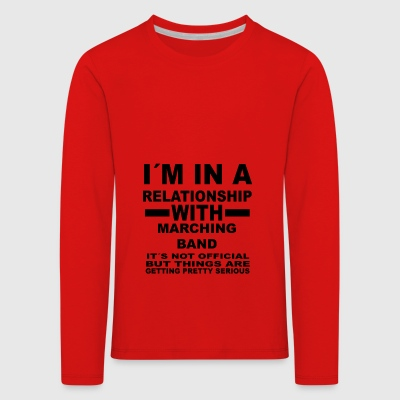 relationship with MARCHING BAND - Kinder Premium Langarmshirt