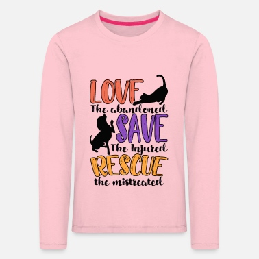 Animal Rescue Animal Rescue - Kids' Premium Longsleeve Shirt