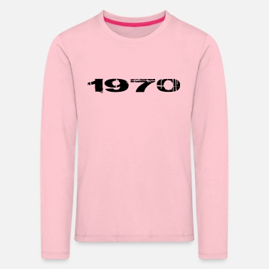 Year Of Birth 1970 year of birth - Kids' Premium Longsleeve Shirt