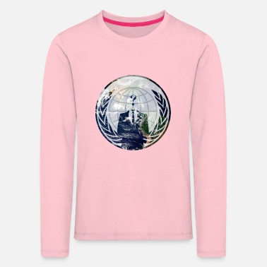 Wide World Wide - Kids' Premium Longsleeve Shirt
