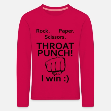 Throat Throat Punch - Kids' Premium Longsleeve Shirt