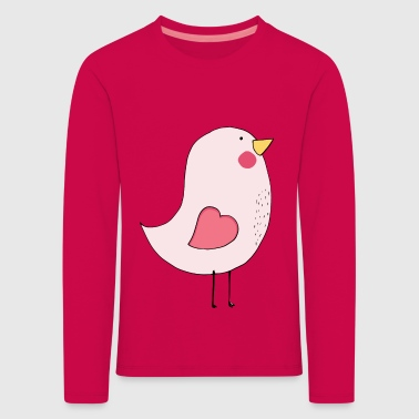 bird female - Kinder Premium Langarmshirt