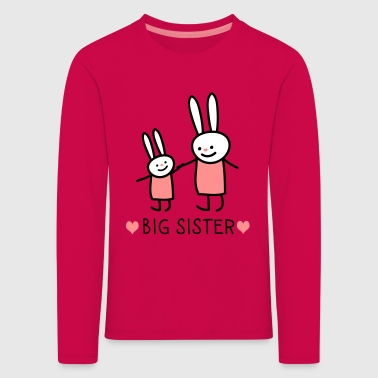 big sister (rabbits) - Kids' Premium Longsleeve Shirt