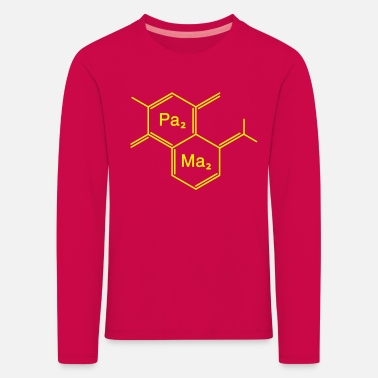 Family Junior Daughter Mom Father chemical papa + mama - Kids' Premium Longsleeve Shirt