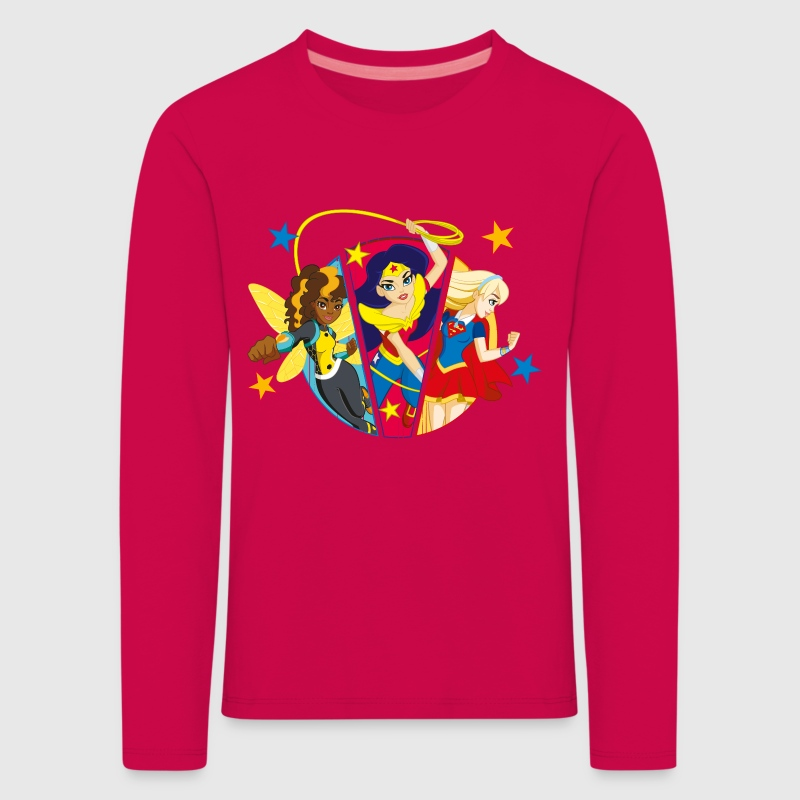 DC Super Hero Girls Bumblebee Wonder Woman Supergi - T-shirt manches longues Premium Enfant