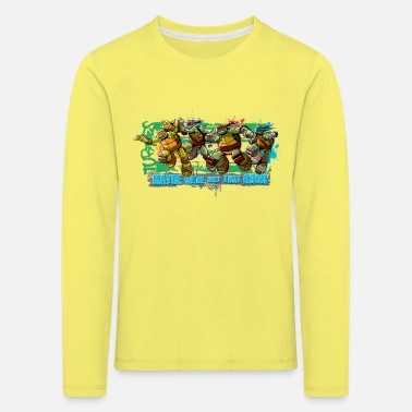 Teenage Premium Shirt TURTLES 'Maybe' - Kinderen premium longsleeve
