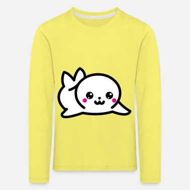 Seal-animal baby seal animal animal welfare - Kids' Premium Longsleeve Shirt