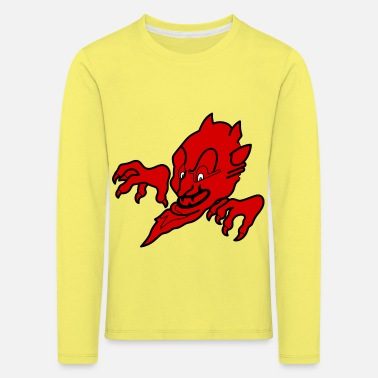 Devil Male Red devil - Kids' Premium Longsleeve Shirt