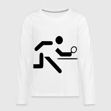 table tennis - Teenagers' Premium Longsleeve Shirt