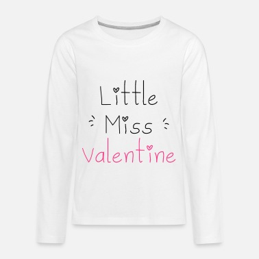 Little Miss Valentine - T-shirt manches longues Premium Ado