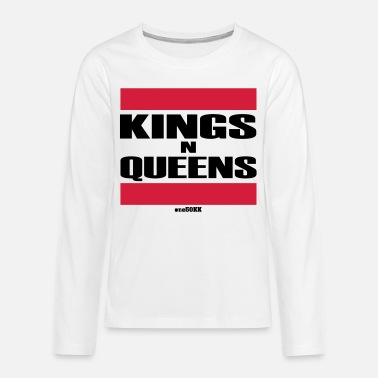 King Queen Kings n Queens - T-shirt manches longues Premium Ado