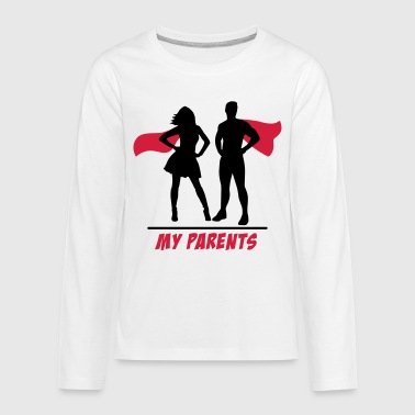 Vos parents-mes parents vos parents-mes parents - T-shirt manches longues Premium Ado