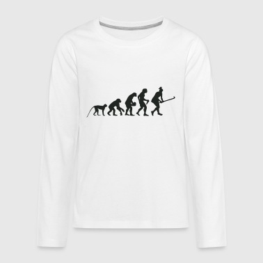 Evolution Hockey - Teenager Premium Langarmshirt