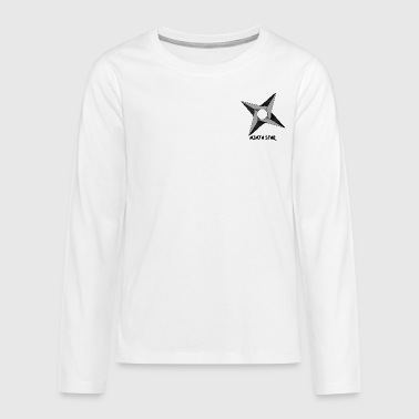 The Ninja Star - Teenagers' Premium Longsleeve Shirt