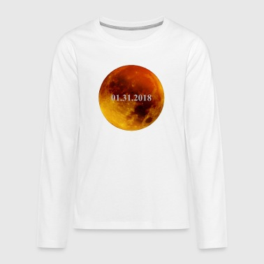 Lunar Eclipse 2018 Lunar Eclipse - T-shirt manches longues Premium Ado