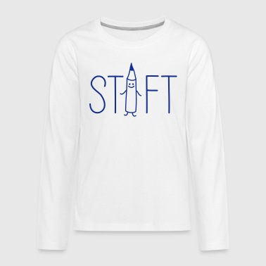 Stift - Teenager Premium Langarmshirt