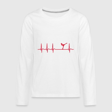 Ice-skating Ice-skating Figure skating Ice-skating - Teenagers' Premium Longsleeve Shirt