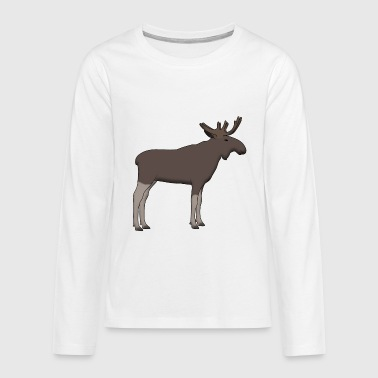Moose is - Teenagers' Premium Longsleeve Shirt