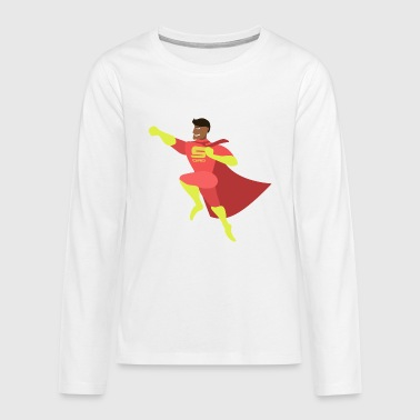 super dad - Teenagers' Premium Longsleeve Shirt