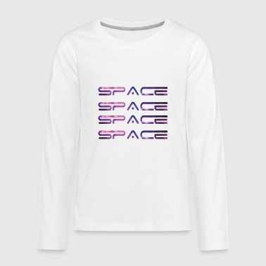 Space Space - Teenagers' Premium Longsleeve Shirt