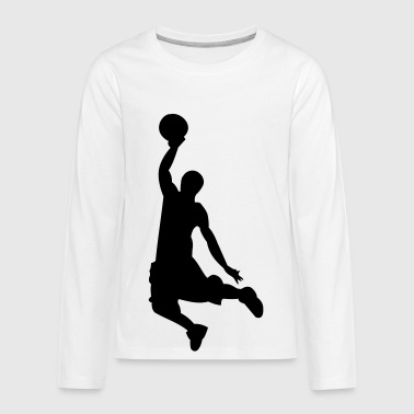 basket-ball - T-shirt manches longues Premium Ado