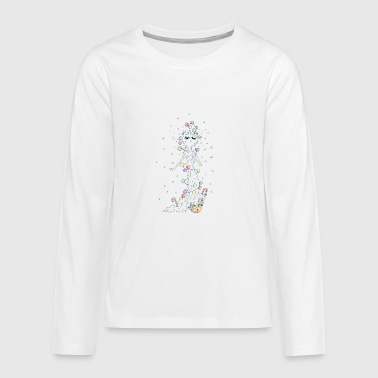Winter Winter - Teenagers' Premium Longsleeve Shirt
