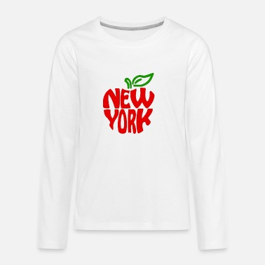 I Love New York new york - T-shirt manches longues Premium Ado
