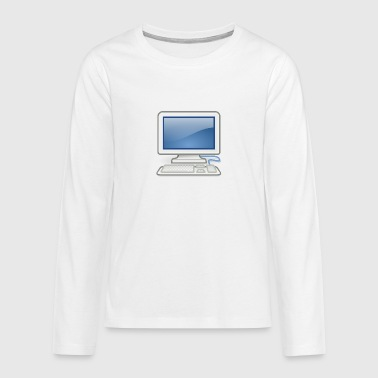 great for PC nerds or PC in love - Teenagers' Premium Longsleeve Shirt