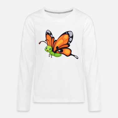 Bird Schmetterling Butterfly Zoo Safari - Teenager Premium Langarmshirt