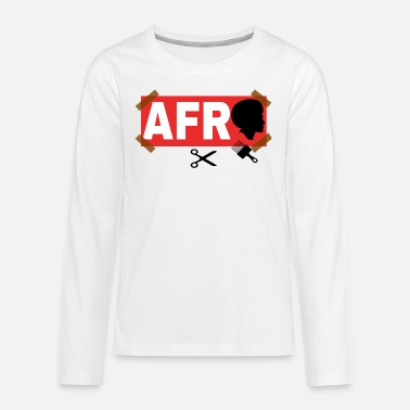 Afro AFRO - T-shirt manches longues premium Ado