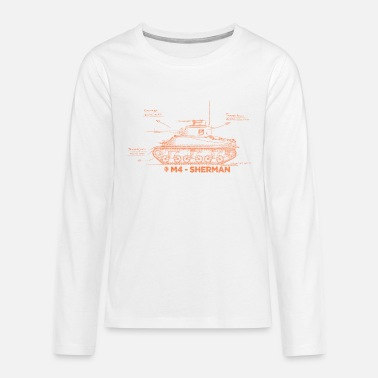 World of Tanks M4 Sherman - Teenage Premium Longsleeve Shirt