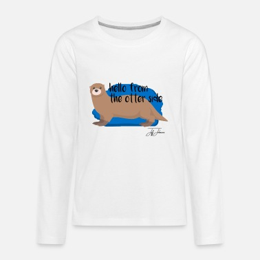 Animal Animal Animals Animal Animals - Teenage Premium Longsleeve Shirt