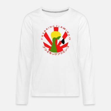 Japan Racing Flamingo - Teenage Premium Longsleeve Shirt