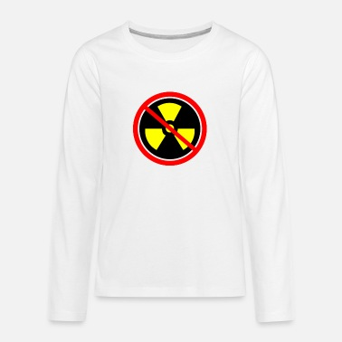 Castor Transport Anti nuclear power Nuclear power stations Nuclear energy Atomic energy - Teenage Premium Longsleeve Shirt